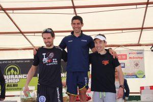 Trail des 3 Rocs podium hommes