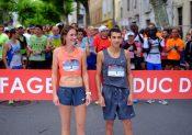 Laurane Picoche et Hassan Chahdi, vainqueurs au Viaduc de Millau