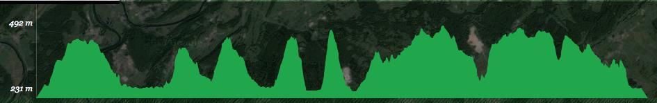 parcours trail de Besançon