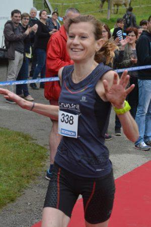 Mylène Bacon, trail du Cagire