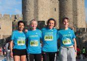 Relais gagnant au Marathon de Carcassonne !