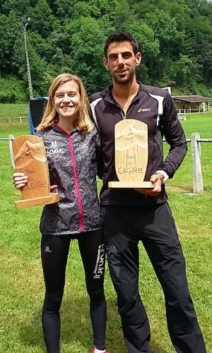 gagnants trail du Cagire