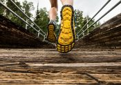 chaussures de running et drop