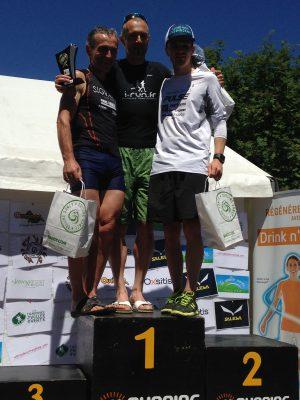 Trail de la Vallée Verte podium 42