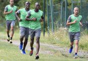 En football, il faut courir vite et courir vite souvent