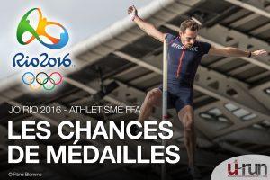 JO : les chances de médailles