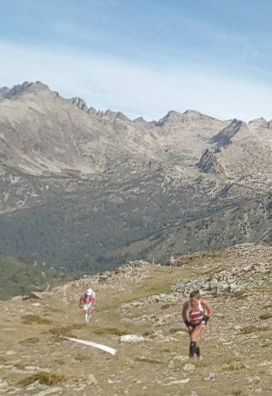 La fin de l'ascension du Mont Archas