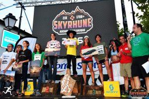 podium féminin