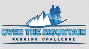 logo over the mountain