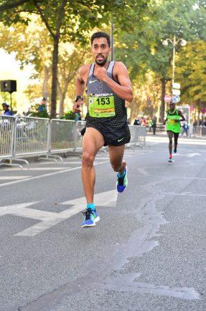 Morhad AMDOUNI, vainqueur du 20km de Paris