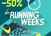 Opération Running Weeks chez i-Run.fr !
