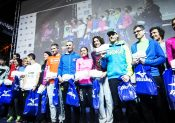 podium Saintélyon 2015