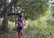 Yoann Stuck au Trail de Rodrigues
