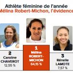athlète féminine de l'année