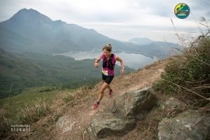 Hong-Kong Skyrunning 02 @Asia Trail Event - Sunny Lee -- Caroline Chaverot 1st