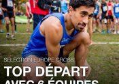 La sélection pour les Championnats d'Europe de CROSS-COUNTRY