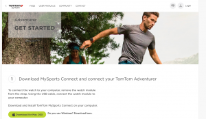 tomtom connect
