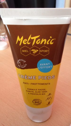 crème pour les pieds MELTONIC