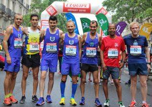 Team Lenglen au 10km L'Équipe