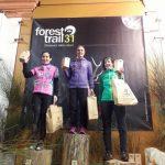 Forest Trail 31: podium 42km
