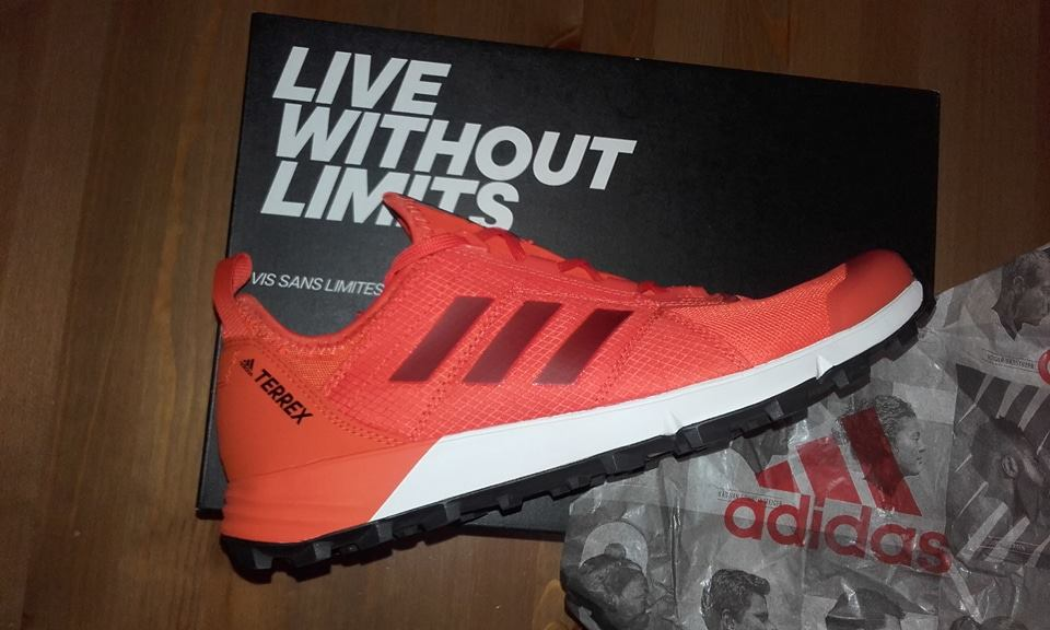 TEST : les chaussures de trail adidas Agravic Speed U Run