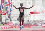 Marathon de Londres : un record et de la folie