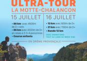L' Ultra-Tour de la Motte-Chalancon, 2è édition les 15 et 16 juillet