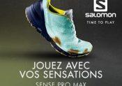 Nouveauté Salomon : la chaussure de trail Sense Pro Max