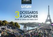 3 dossards à gagner pour les 20km de Paris !
