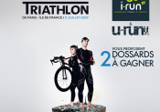 2 dossards à gagner pour le Garmin Triathlon de Paris