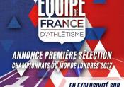 La FFA annonce les sélectionnés pour les mondiaux de Londres
