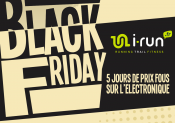 Opération Black Friday chez i-Run.fr !