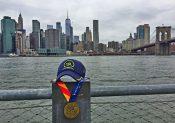 De retour du Marathon de New-York : des étoiles dans les yeux !