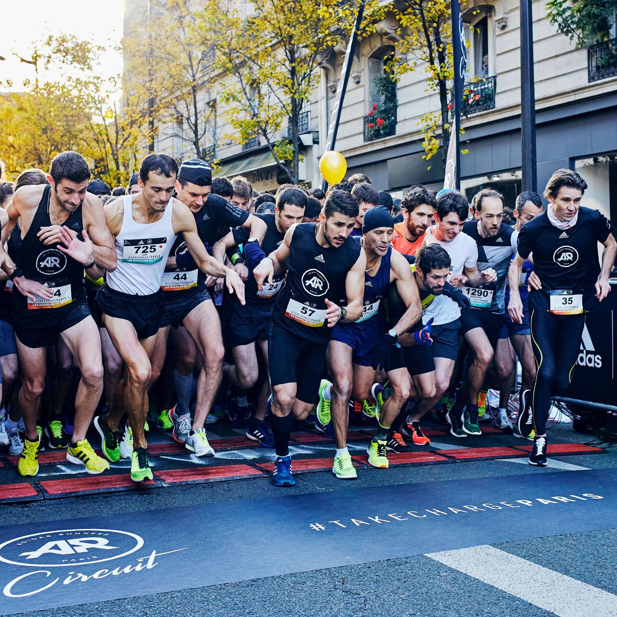 great fit check out on sale Adidas Runners League : Le succès du circuit parisien – U Run