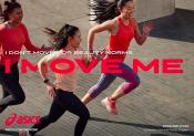 Asics lance sa nouvelle campagne «I MOVE ME»