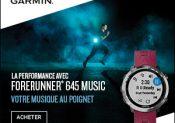 Garmin® Forerunner® 645 Music : la montre de running avec musique intégrée