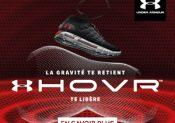 UNDER ARMOUR présente ses nouvelles chaussures de running HOVR