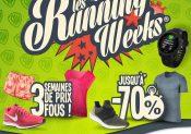 Foncez, c'est le retour des Running Weeks chez i-Run.fr !