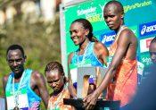 Marathon de Paris 2018 : Lonyangata et Saina devant 40 000 coureurs !