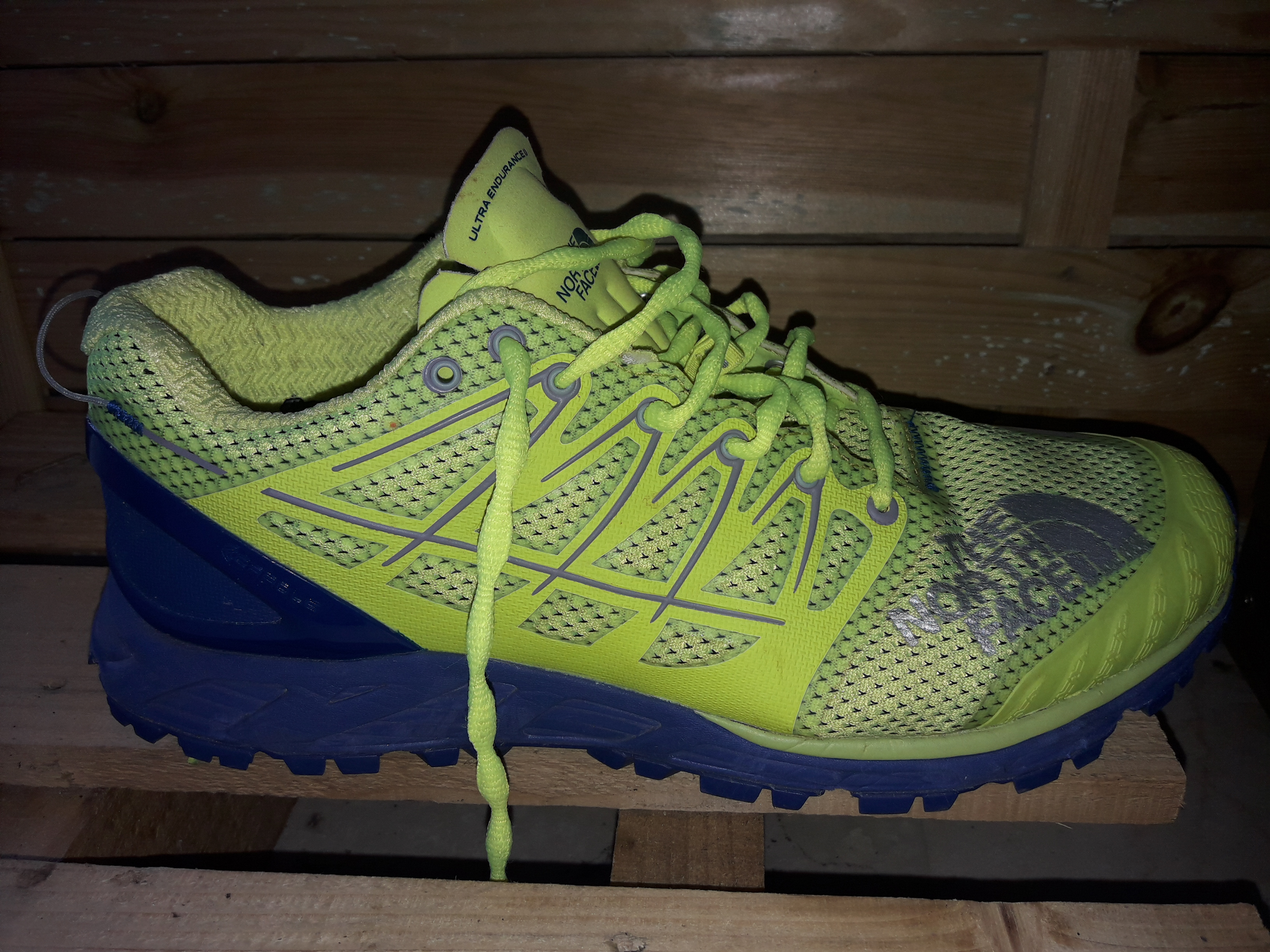 Test : les chaussures de trail North Face Ultra Endurance II