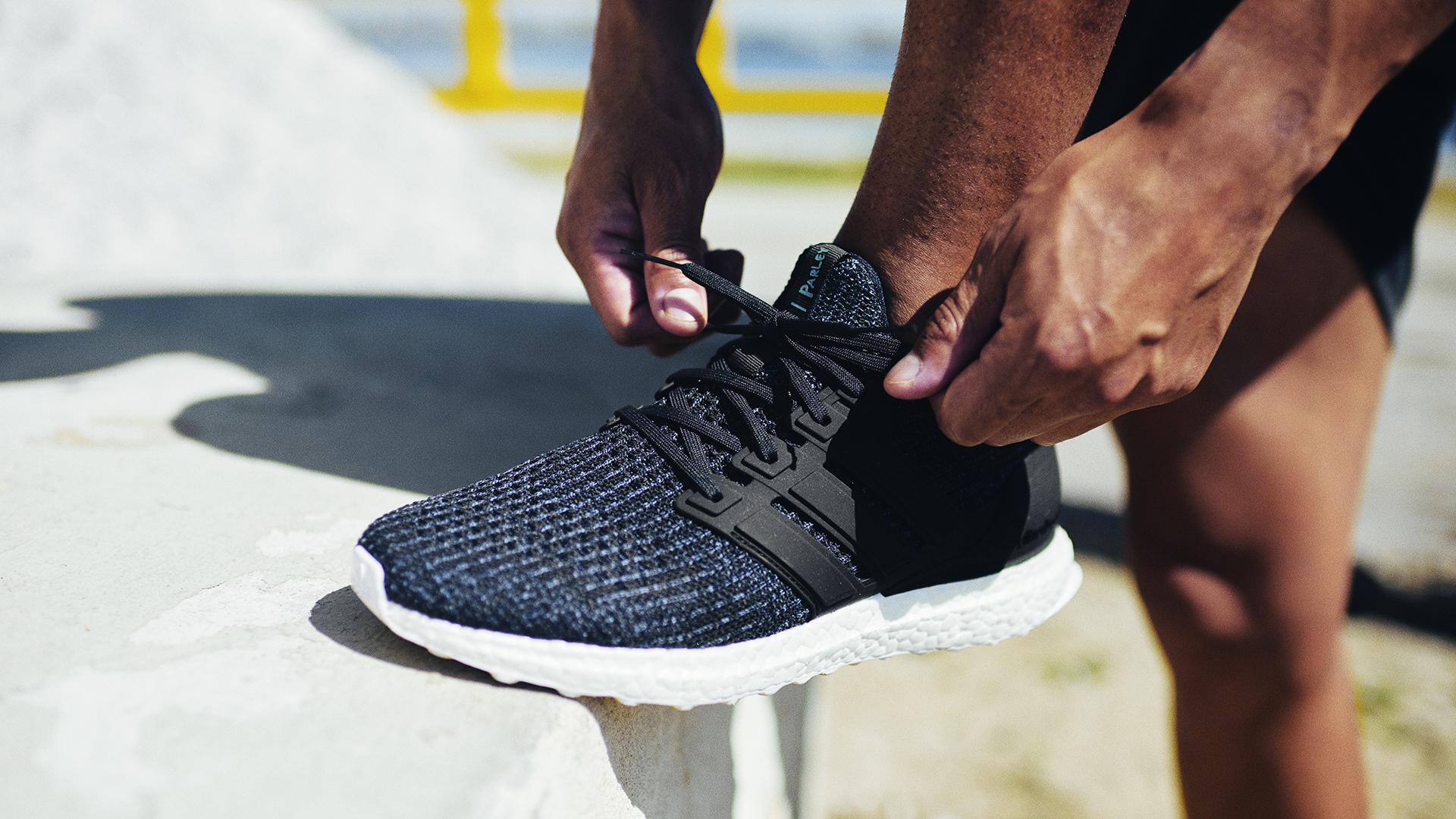 UltraBOOST Parley : la chaussure officielle de Run For The