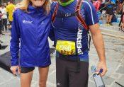 Victoire de Mylène sur le 15km du Trail LE BELIER- LA CLUSAZ