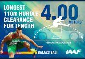 Etude biomécanique et chiffres sur les performances des athlètes