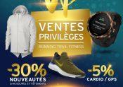 Ventes privilèges i-Run