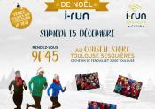i-Run et ses ambassadeurs vous invitent au RUN DE NOEL !