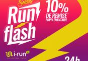 Opération RUN FLASH chez i-Run !