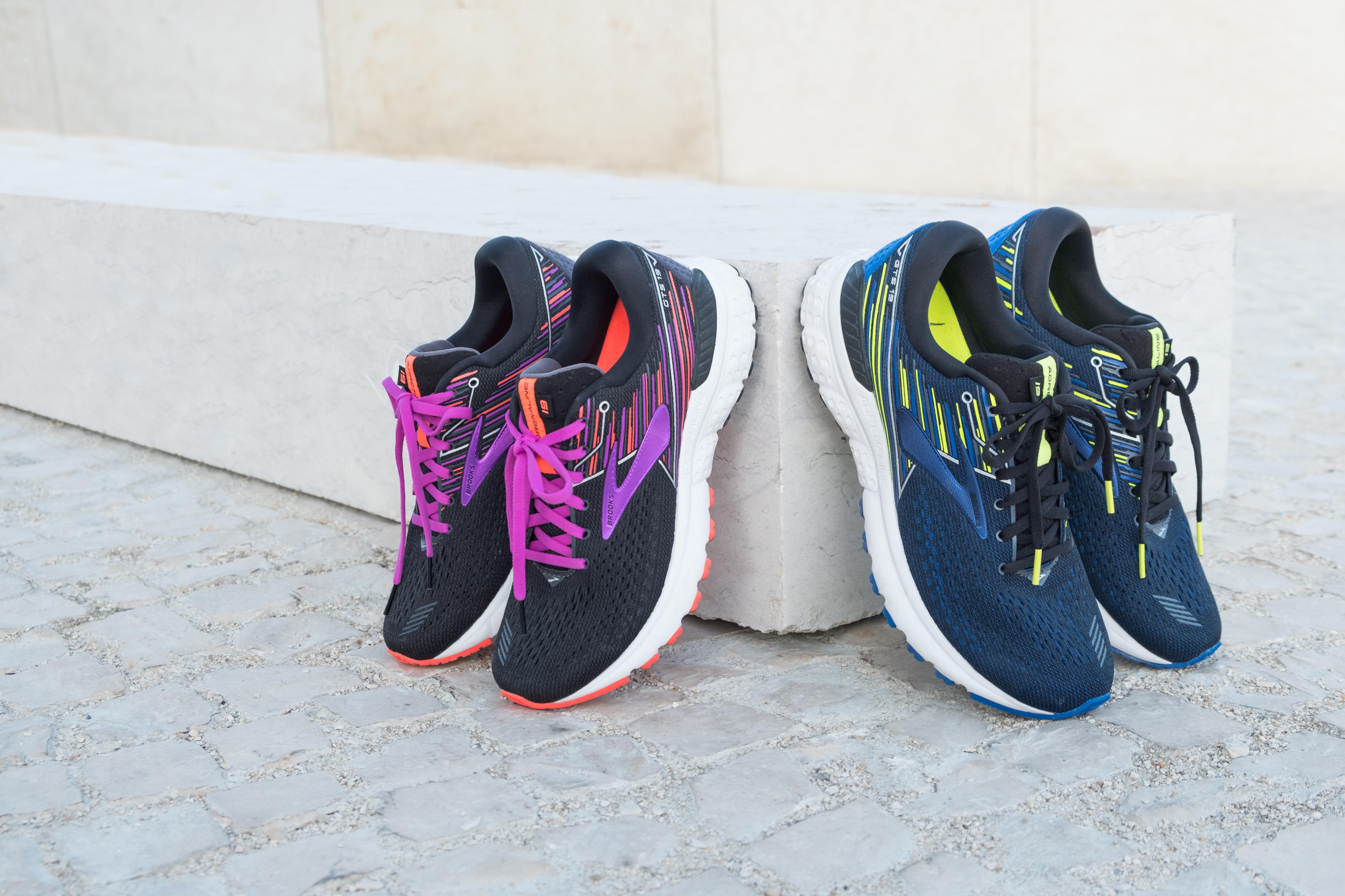 af158db05208a Retrouvez la chaussure de running BROOKS ADRENALINE GTS 19 sur i-Run.fr   BROOKS  ADRENALINE GTS 19