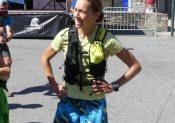 Théo Détienne et Christelle Lazard vainqueurs de l'épreuve skyrunning à Saint Lary