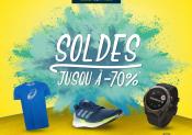 SOLDES : jusqu'à 70% de remise chez i-Run.fr !