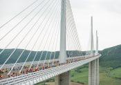 6e édition de la Course Eiffage du Viaduc de Millau, le 17 mai 2020